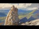 Daylight Ridge - Digital Painting Sketch