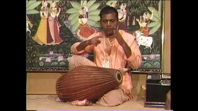 Mrdanga Lessons With Krsna Kirtan Prabhu Part 1