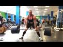 Сергей Дараган, тяга 370 кг на 2 раза
