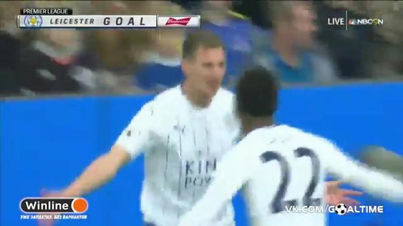 ГолТВ рф Эвертон Лестер 4 2 Обзор матча Англия