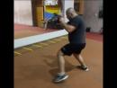 Боец М-1 Борис Полежай - бой с тенью, мощные удары