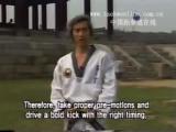 Нэрио чаги (Naeryo Chagi, Raising Kick, Axe Kick, Удар ногой сверху вниз). Revolution of Kicking