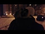 Лови момент13 Луиза Джули-Фар на снежной прогулке ...!!! Буду знакомить со снегом ...!!!