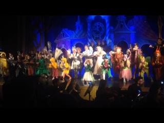 Новогоднее представление театра Карамболь