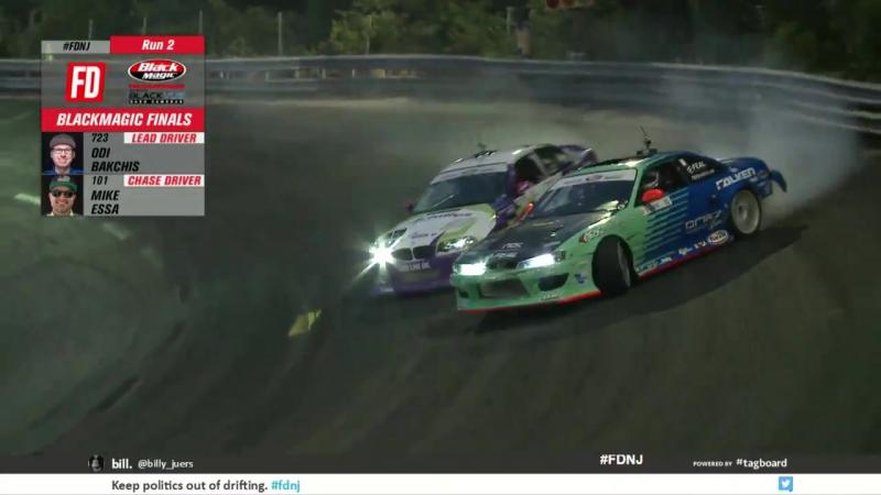 FDNJ Aurimas Bakchis wins Round 4 Formula Drift 2017