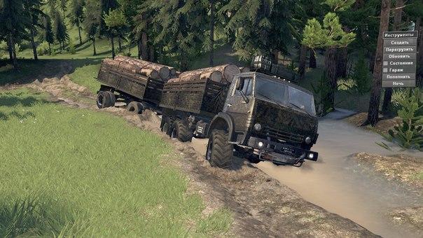 Камаз 4310 Military для Spintires - Скриншот 1