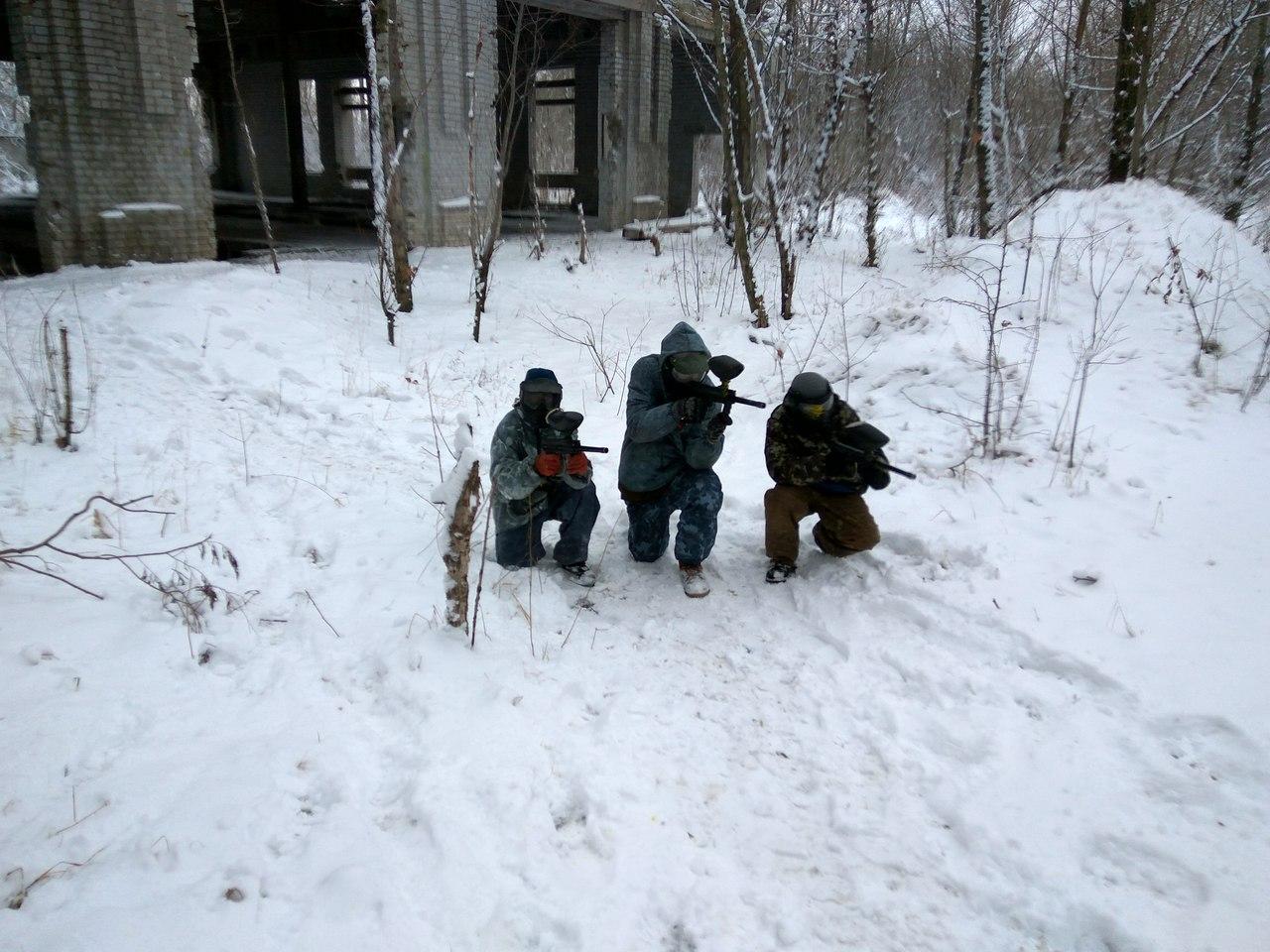 пейнтбол черкаси зима