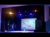Янина Гарбар  Финал конкурса Патриотической песни 2017 Лауреат 3 степени кавер Песняры - Журавли