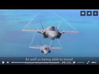 Министерство обороны Великобритании - F-35B Stealth Fighter Flight, Hover и вертикальная посадка [2160p]