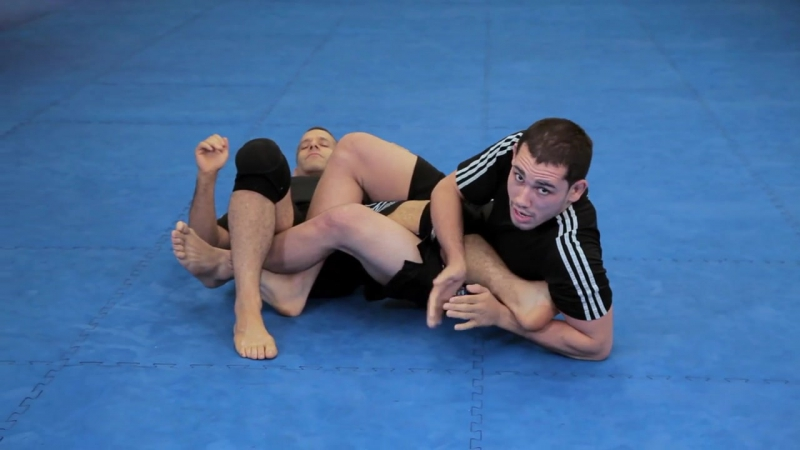 How to Do a Flying Scissor Heel Hook (MMA Submission)