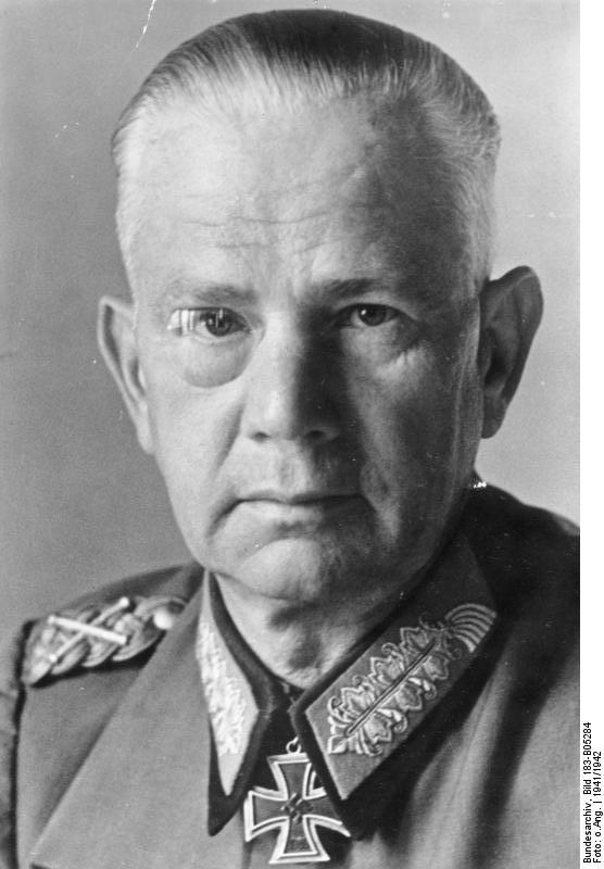 Вальтер фон Рейхенау - Когда противник ни при чём | Warspot.ru