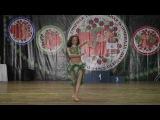 Anastasya Korobova solo tabla World Gran Prix, choreography by Svetlana Milaya
