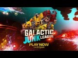 Steam Early Access Launch Trailer  GALACTIC JUNK LEAGUE