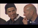 Cristiano Ronaldo Friends Relationships with Zinedine Zidane on Audi Show 05112016