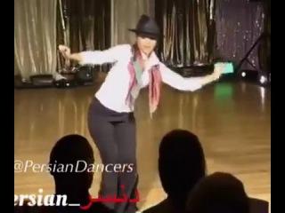 Raghs Jaheli dokhtar irani- رقص جاهلی بابا کرم دختر ایرانی