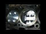 Ремонт двигателя (замена ШПГ, ремонт ГБЦ) ВАЗ Калина 1,4 16 кл. (11194) ч.2