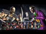 Mortal Kombat vs DC Universe_2-player gameplay part 1
