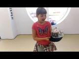 Лена рассказывает про кепку Zumba kids Нижневартовск