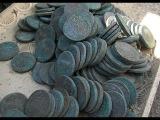 РЕАЛЬНО!НАСТОЯЩИЙ КЛАД  712  монет.В поисках Золота и Старины!
