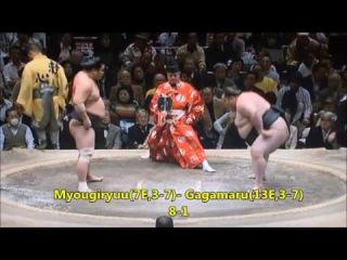 Sumo -Hatsu Basho 2017 PROPER Day 11, January 18th -大相撲初場所 2017年 11日目