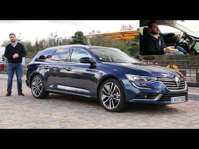 2016 Renault Talisman Estate [ESSAI VIDEO] : habitacle, conduite, notre avis