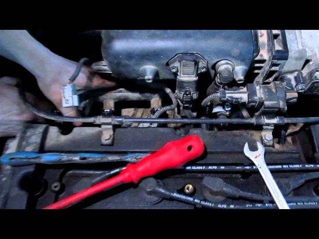Промывка топливных форсунок Hundai Accent в гаражных условиях