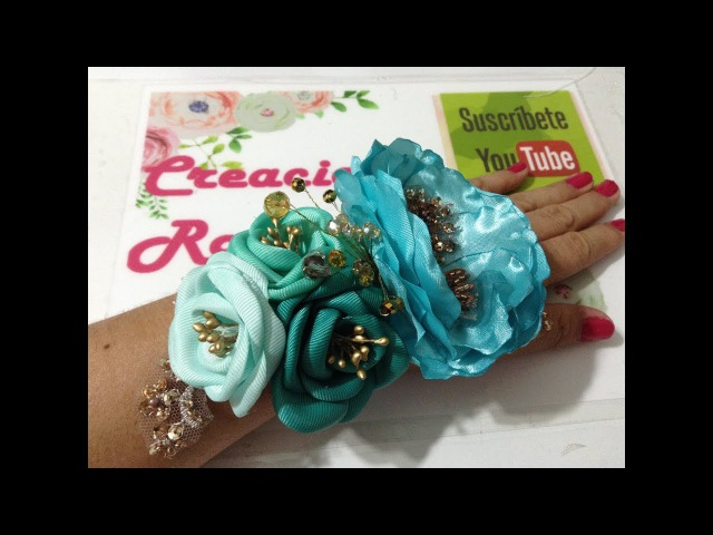 Corsage de mano para baby shower VIDEO No.464