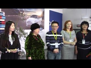 G-TIME CORPORATION 10.01.2017 г. Вручение Автомобиля Ford Focus партнеру из Караганды