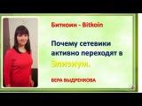 Биткоин  Bitkoin  Почему сетевики активно переходят в Элизиум. ВЕРА ВЫДРЕНКОВА