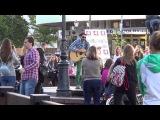 Выступление Вовки Плюмбума (PLUM BUM, NABR) - улица брест 2 часть
