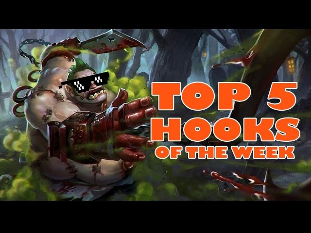 Dota 2 Watafak | Dota 2 WTF - TOP 5 hooks of the week