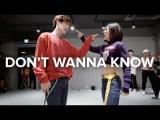 Don't Wanna Know - Maroon 5  Lia Kim Choreography (ft.Jun from A.C.E)