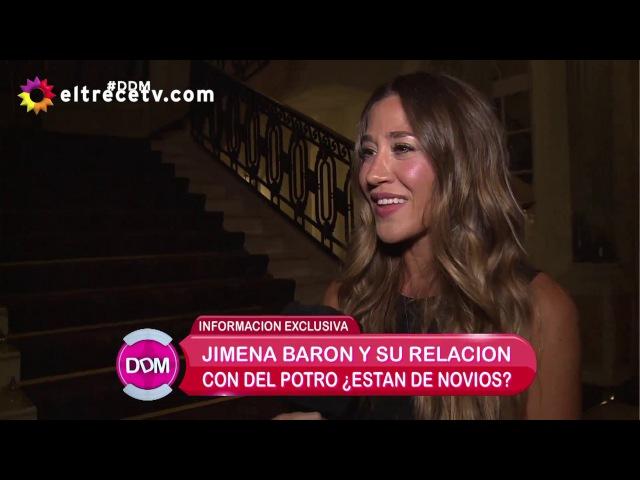 Jimena Barón dio detalles de la noche que pasó con Del Potro: Es un amor