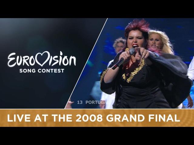 Vânia Fernandes Senhora Do Mar Negras Águas Portugal Live 2008 Eurovision Song Contest