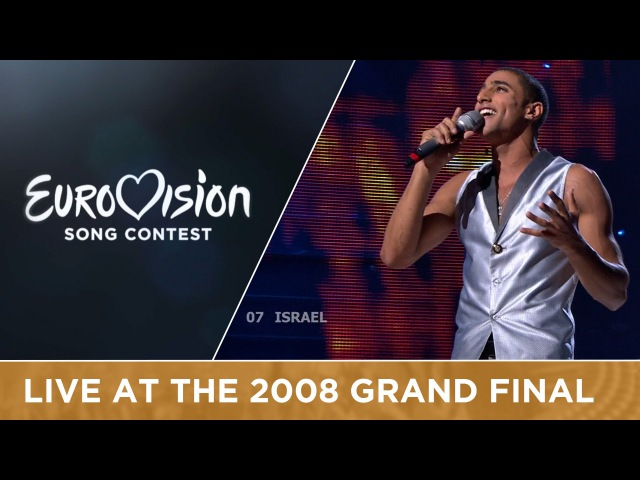 Boaz - The Fire In Your Eyes (Israel) Live 2008 Eurovision Song Contest