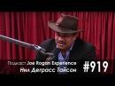 Подкаст Джо Роган Experience 919 - Нил Деграсс Тайсон [2017] Русская озвучка