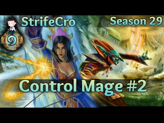 Hearthstone Control Mage S29 #2: Block and Load