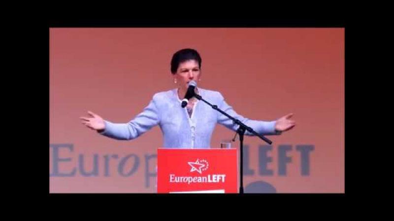 ,direkt Gänsehaut bekommen ...😱 | Starke Rede von einer genialen Sahra Wagenknecht 02/2017