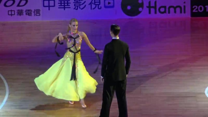 Arunas Bizokas Katusha Demidova - quickstep 2016 Taiwan world super star show 舞王-4K