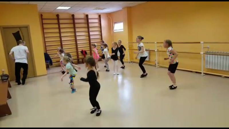 Занятие с хореографом ШФК Айсберг