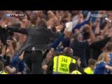 Тренер Челси Антонио Конте после победного гола