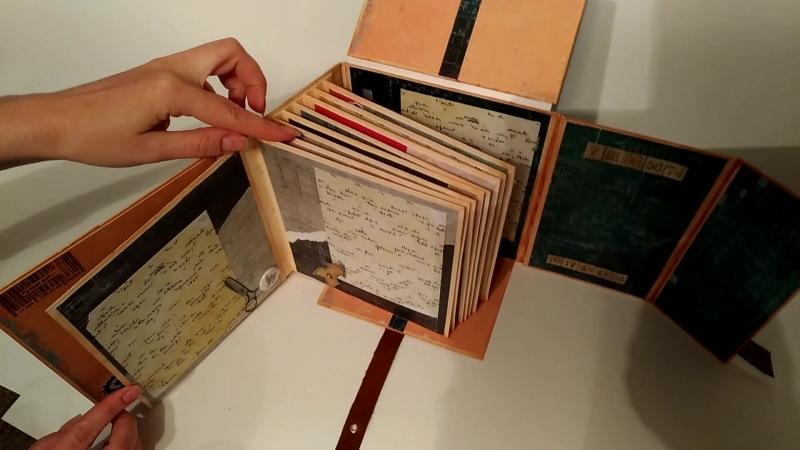Фотоальбом-кейс handmade (видео)