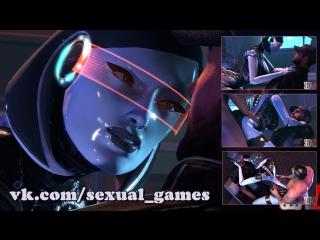 Edi quickie (mass effect sex)