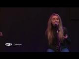 Сабрина в студии радиостанции Live 95.5 06.11.16.Портленд, США