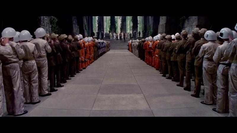 Звездные Войны Эпизод 4 Новая Надежда Star Wars Episode IV A New Hope 1977 Концовка Тронный Зал