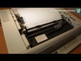 Саундтрек из DOOM на струйном принтере