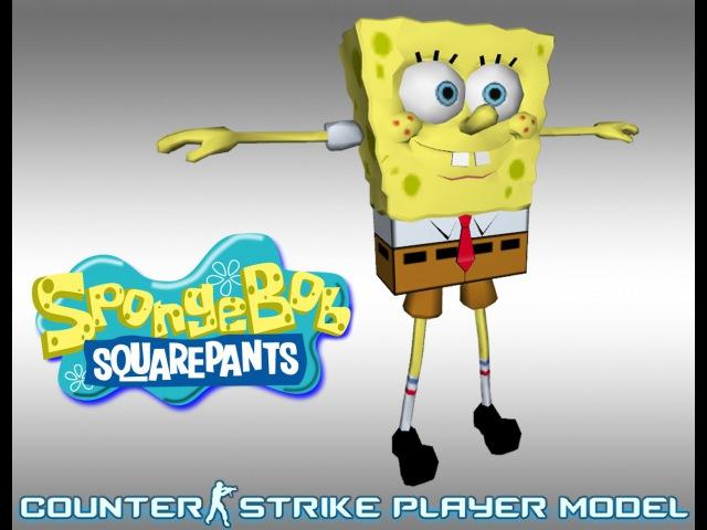 Spongebob player model cs 1 6