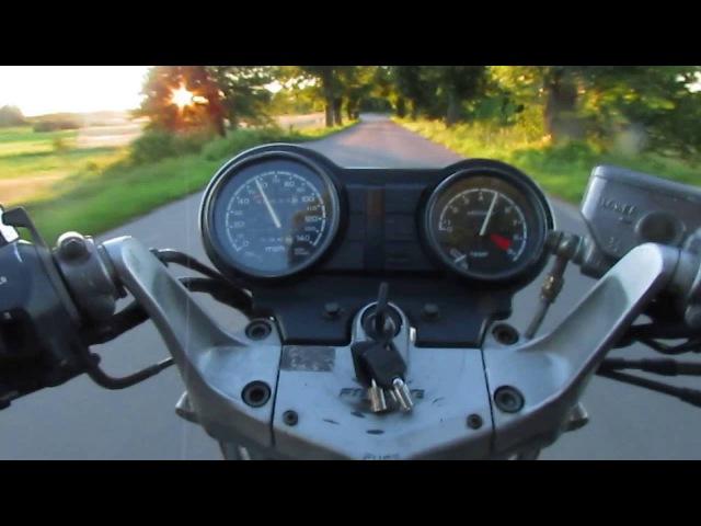 Honda NTV z wózkiem bocznym - Orzysz