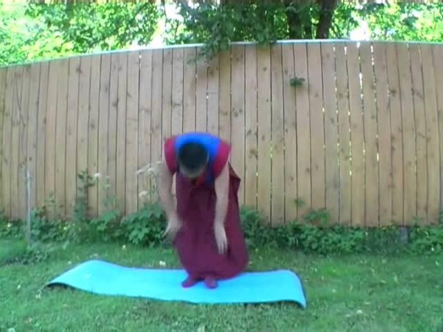 Трул кхор с геше Ринченом Тензином. Формы практики движений тибетской йоги