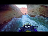 Jet Ski Water Fight Lake Powell (Arizona Utah) w Sea-Doo and GoPro Slot Canyons 2016 Part 1 HD